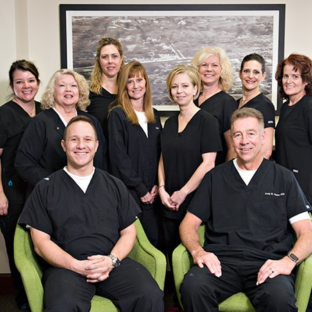 Our family dentists in Bloomfield Hills, MI with our team